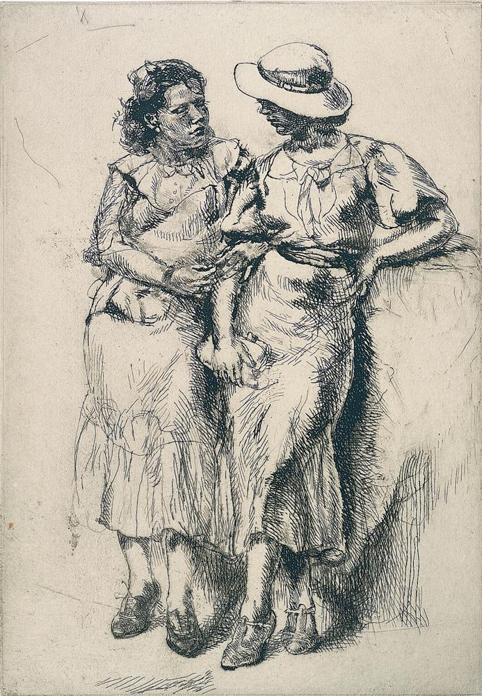 Isabel Bishop Weisman Art Museum Isabel Bishop: Noon Hour, 1935 — Weisman Art Museum