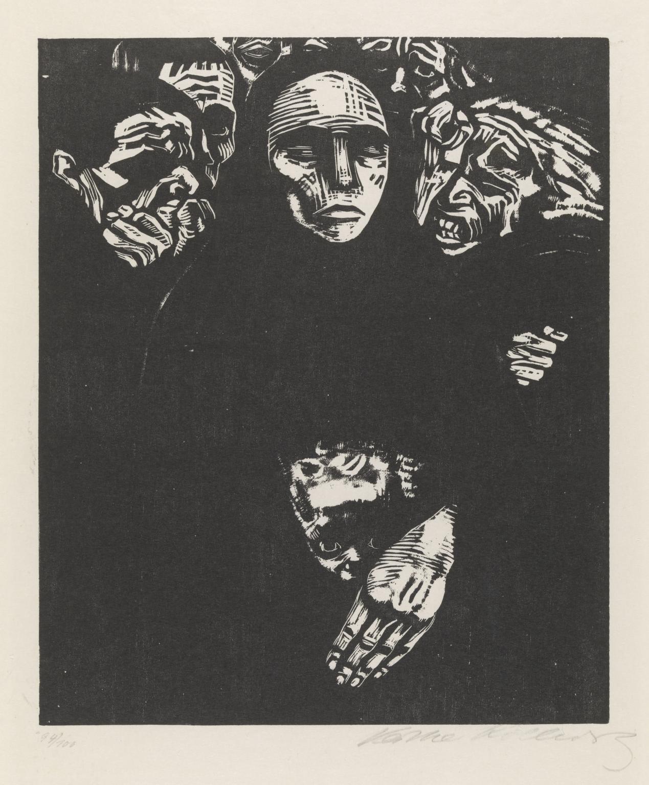 Käthe Kollwitz The People 1922