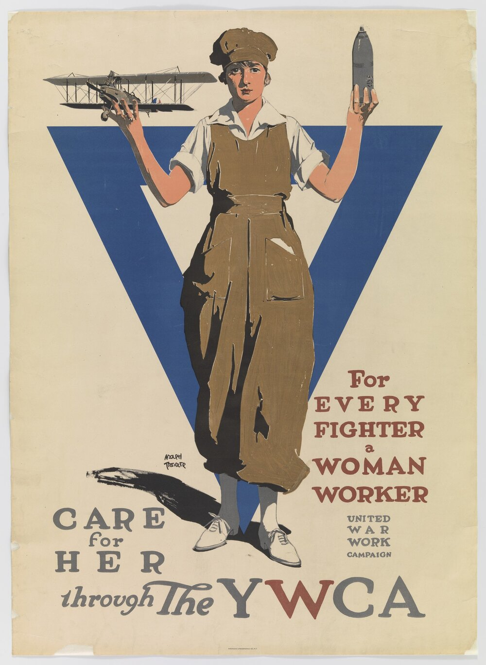 or Every Fighter a Woman Worker. Care For Her Through the YWCA